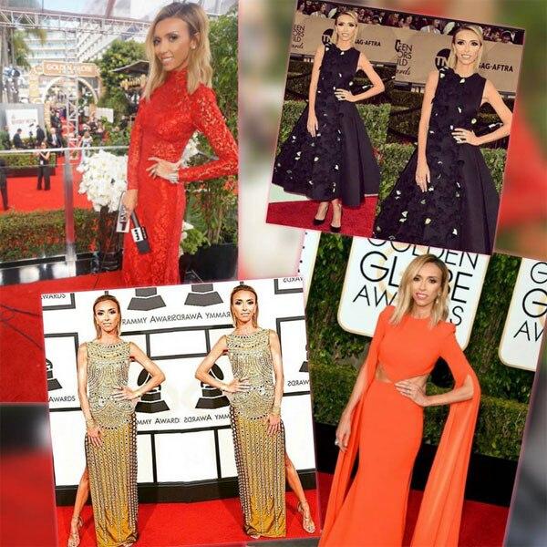 Giuliana Rancic 2016 Oscars Instagram