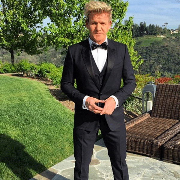 gordon ramsay from oscars 2016 instagrams twitpics e news deutschland. Black Bedroom Furniture Sets. Home Design Ideas