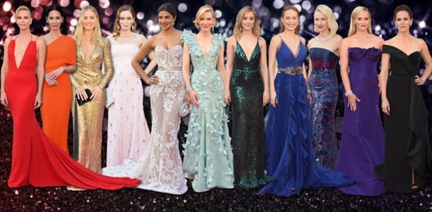 Oscar Arrival Dresses FD Split