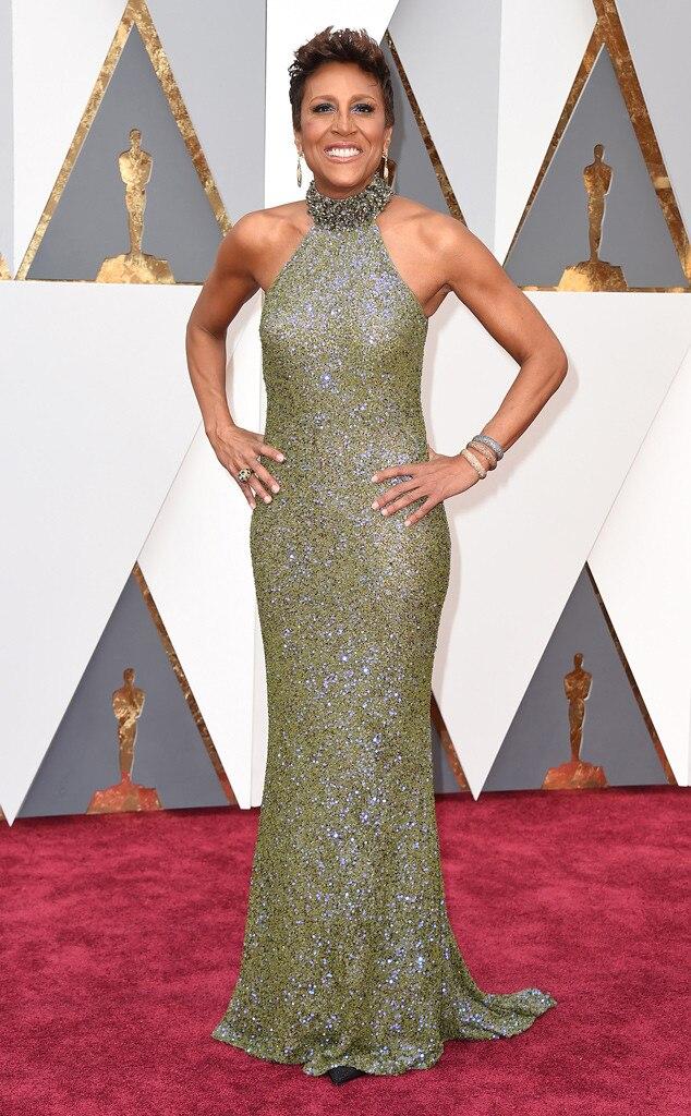 Robin Roberts, 2016 Oscars, Academy Awards, Arrivals