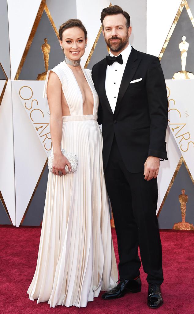 2016 Oscars, Academy Awards, Arrivals, Olivia Wilde, Jason Sudeikis, Couples