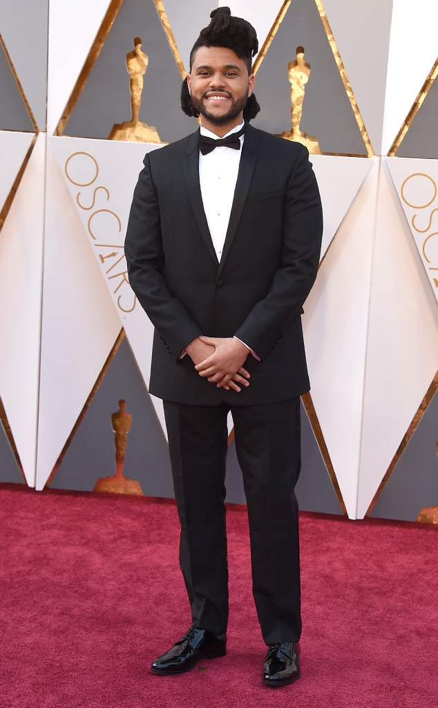 Weeknd, 2016 Oscars, Academy Awards, Arrivals