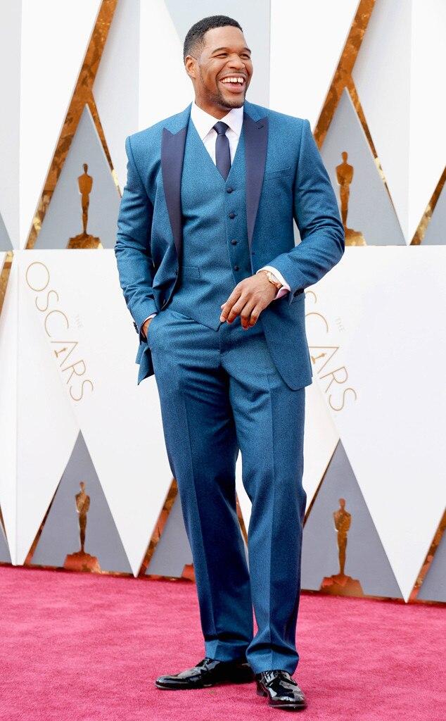 Michael Strahan, 2016 Oscars, Academy Awards, Candids