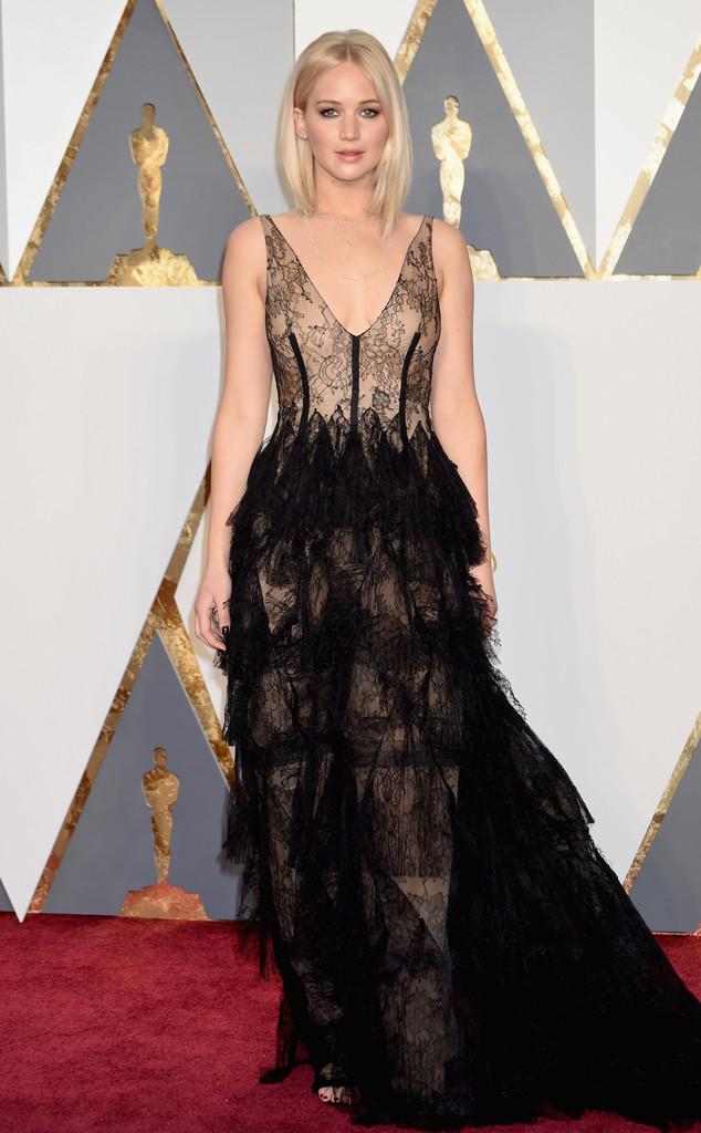 Jennifer Lawrence, 2016 Oscars, Academy Awards, Arrivals