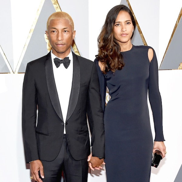 Pharrell Williams & Helen Lasichanh from Couples at the ...