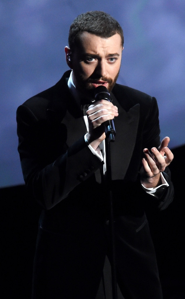 Sam Smith, 2016 Oscars, Academy Awards, Show