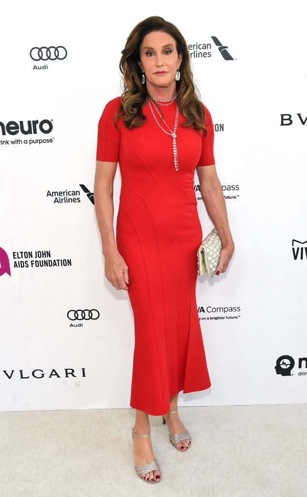 Elton John Oscars Party, Caitlyn Jenner