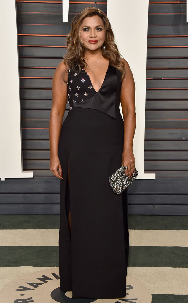 Vanity Fair Oscars Party, Mindy Kaling