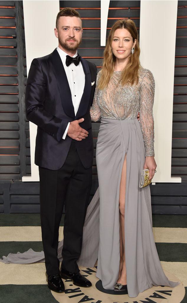 Vanity Fair Oscars Party, Justin Timberlake, Jessica Biel