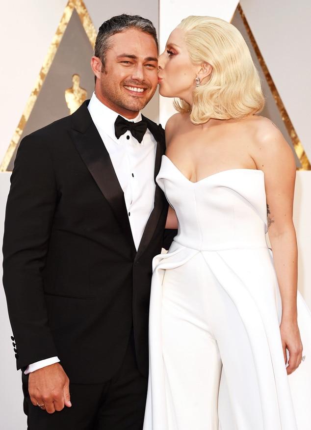 2016 Oscars, Academy Awards, Arrivals, Taylor Kinney, Lady Gaga, Candids