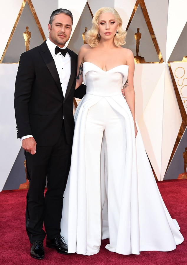 2016 Oscars, Academy Awards, Arrivals, Taylor Kinney, Lady Gaga, Couples