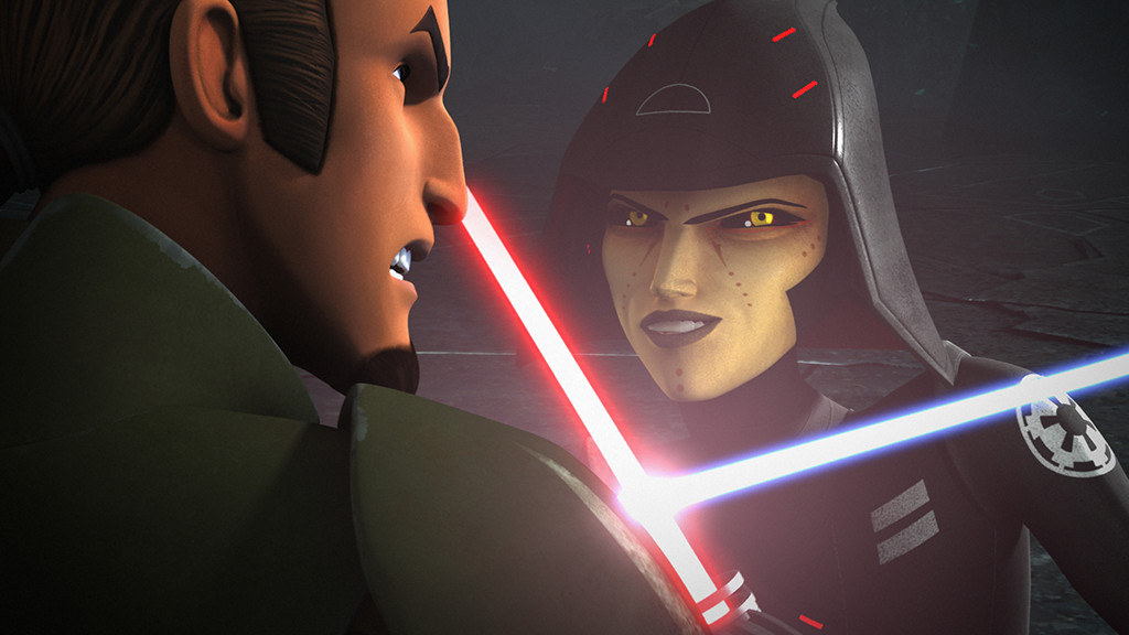 Star Wars Rebels, Sarah Michelle Gellar, Freddie Prinze Jr.