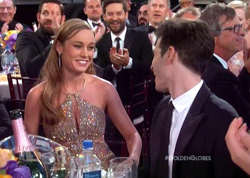 Brie Larson, Alex Greenwald, Golden Globes