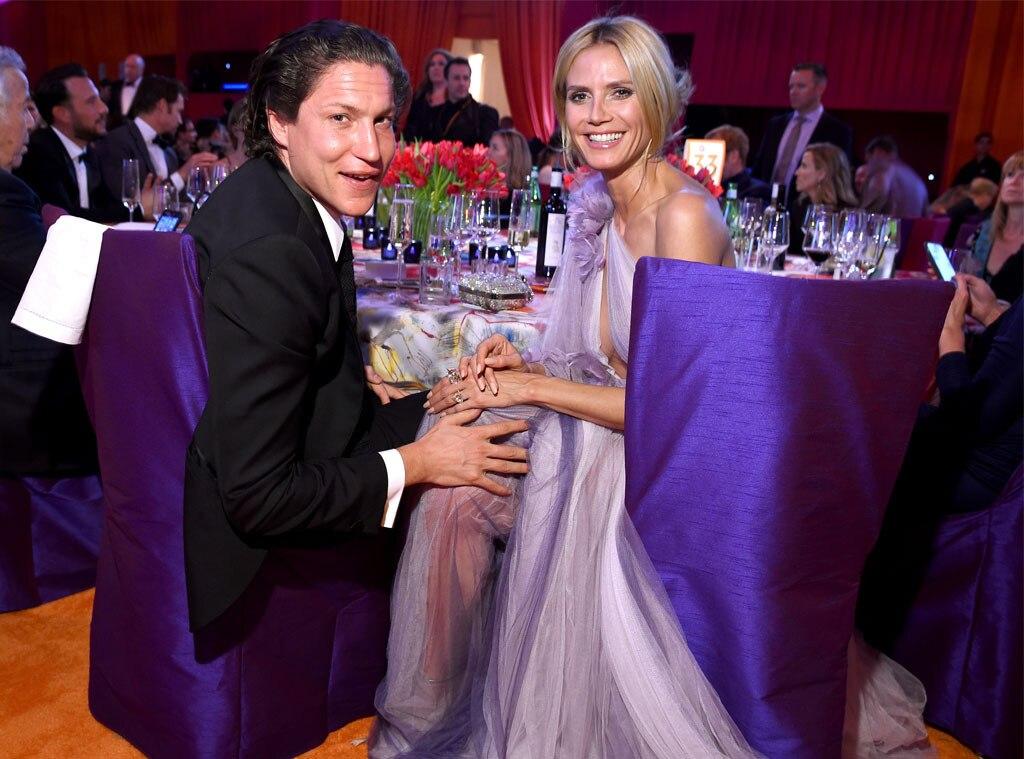 Vito Schnabel, Heidi Klum, Oscar Party Pics