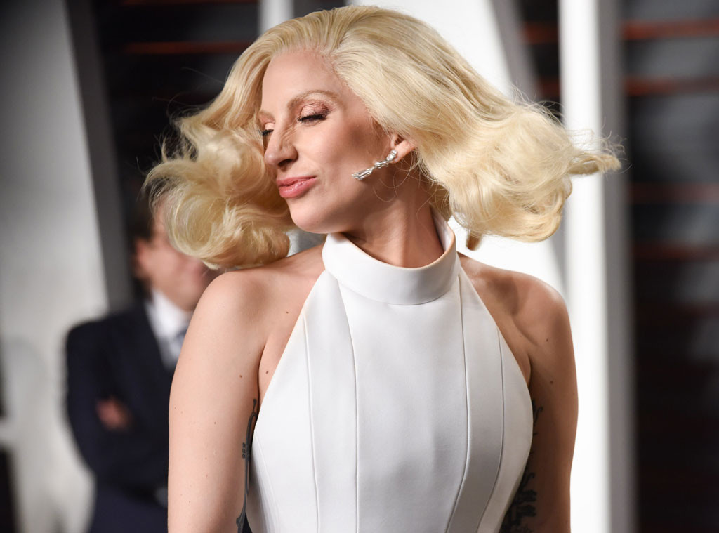 Lady Gaga, Vanity Fair Oscars Party