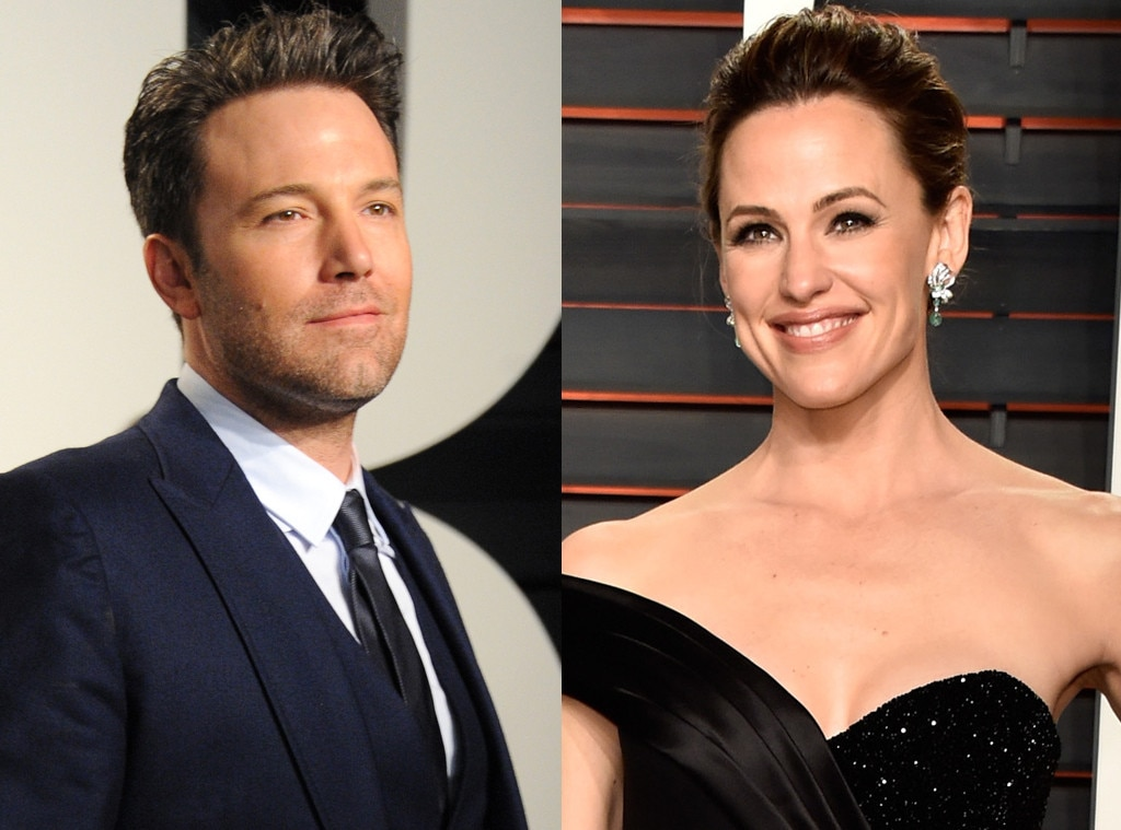 Ben Affleck, Jennifer Garner, Vanity Fair Oscars Party
