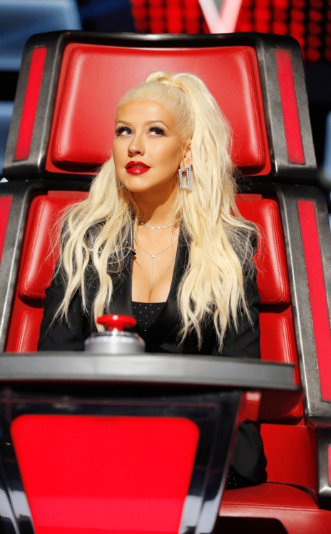 The Voice Coaches Think Christina Aguilera Has The Team To