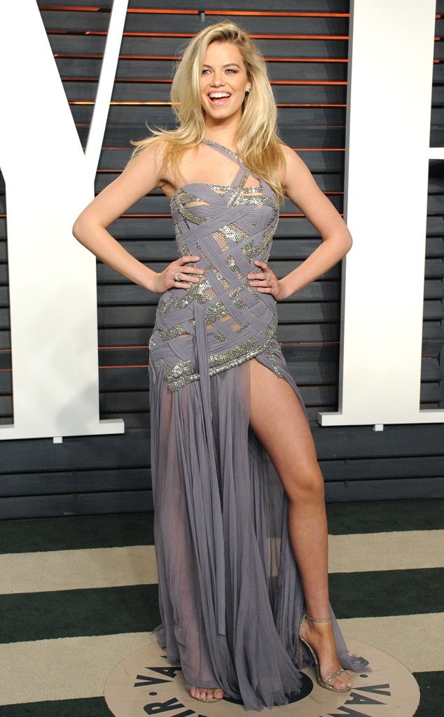Hailey Clauson, 2016 Vanity Fair Oscar Party