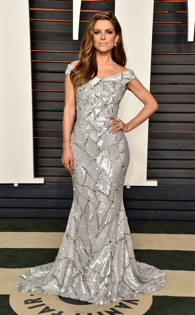Maria Menounos, 2016 Vanity Fair Oscar Party