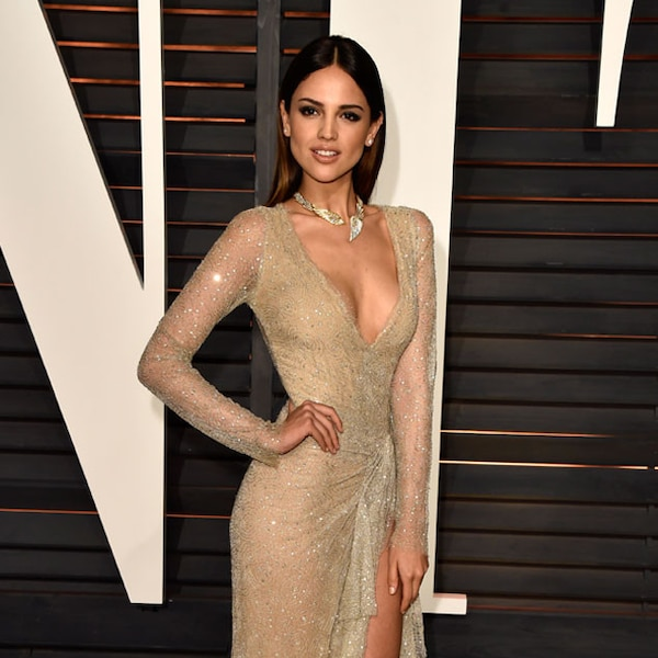 Eiza Gonz 225 Lez From Vanity Fair Oscars Party 2016 What The