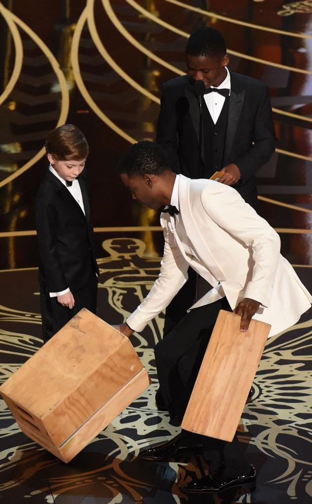 Chris Rock, Jacob Tremblay, Abraham Attah, Oscars 2016