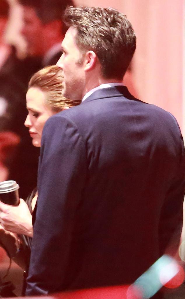 Ben Affleck, Jennifer Garner, Vanity Fair Oscars Party
