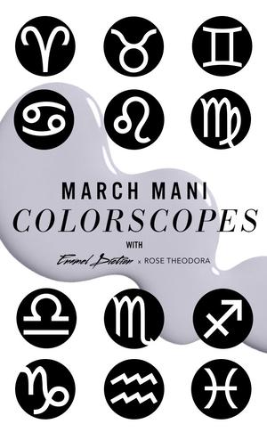 ESC, March Horoscopes