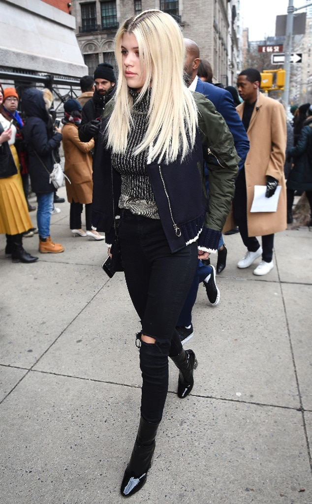 Sofia Richie From Best Bomber Jackets For Every Style E News