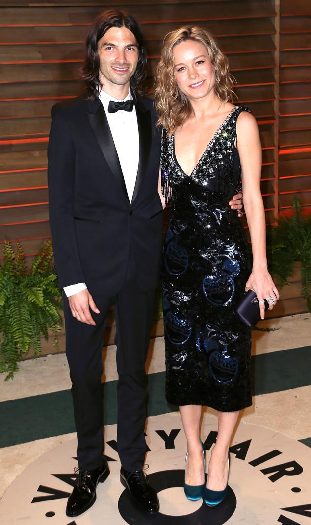 Brie Larson, Alex Greenwald, Vanity Fair Oscar Party