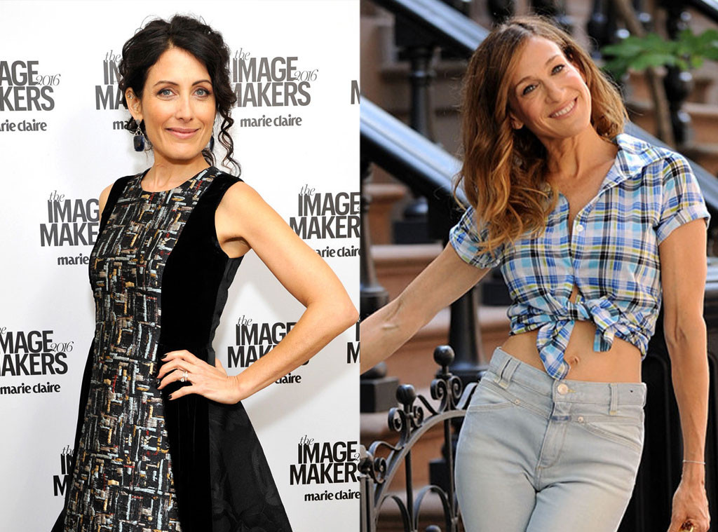 Lisa Edelstein, Sarah Jessica Parker, Sex and the City