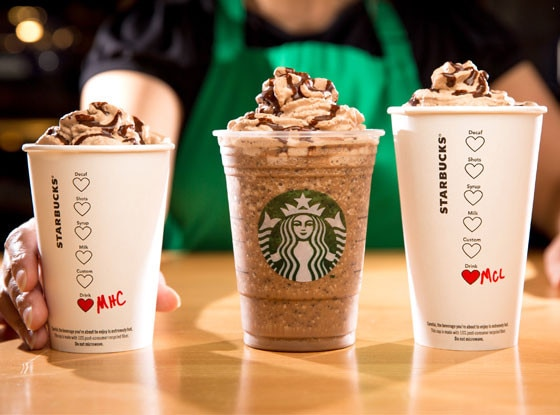 Starbucks, Chocolate Beverages