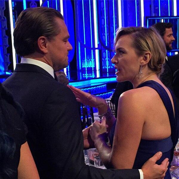 Leonardo DiCaprio, Kate Winslet, Marc Malkin Instagram