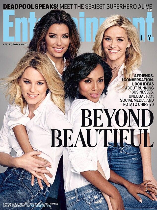 Eva Longoria, Kerry Washington, Elizabeth Banks, Reese Witherspoon, Entertainment Weekly