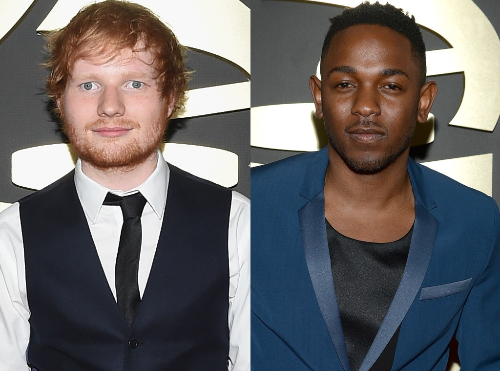 Grammy Hunks, Ed Sheeran, Kendrick Lamar