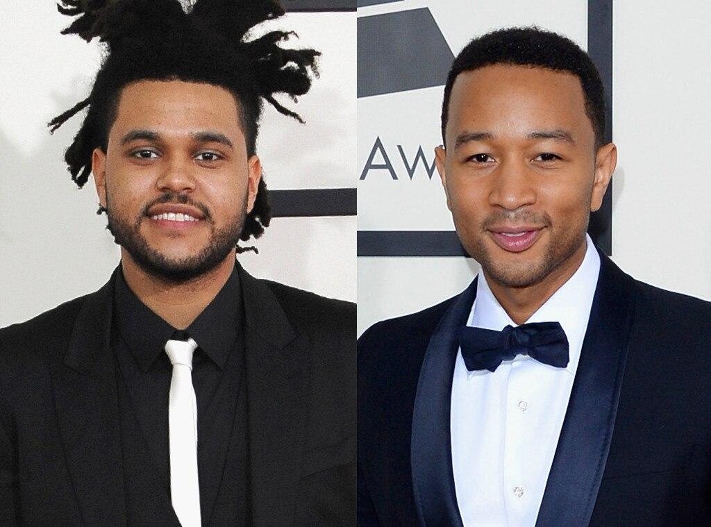 Grammy Hunks, The Weeknd, John Legend