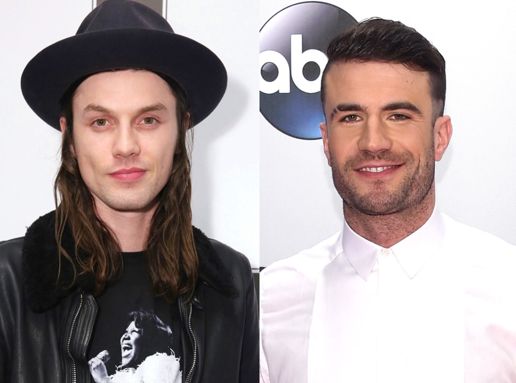 Grammy Hunks, James Bay, Sam Hunt
