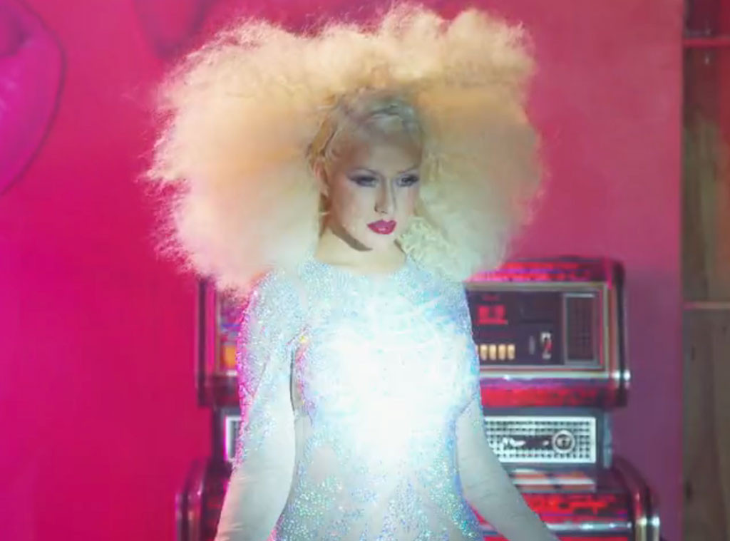 Christina Aguilera, The Voice BTS