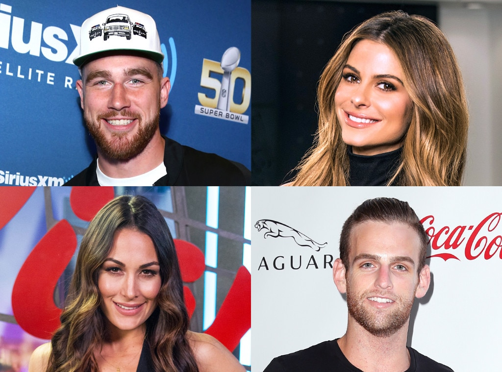 Travis Kelce, Maria Menounos, Brie Bella, Johnny Drubel