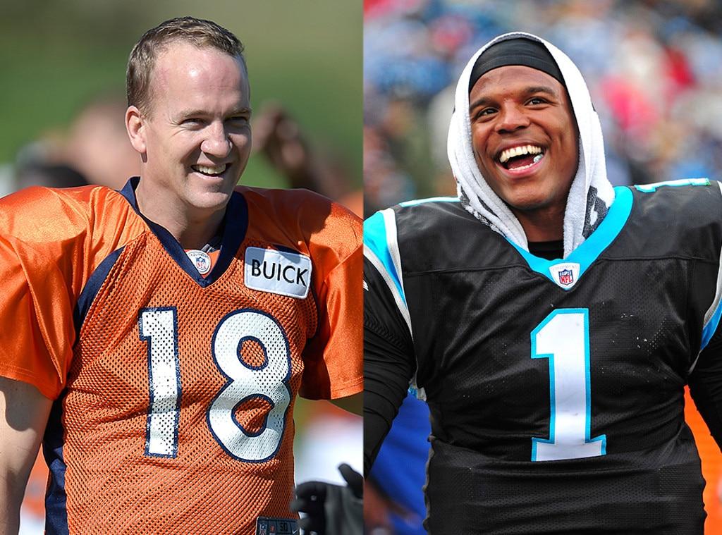 Cam Newton, Peyton Manning
