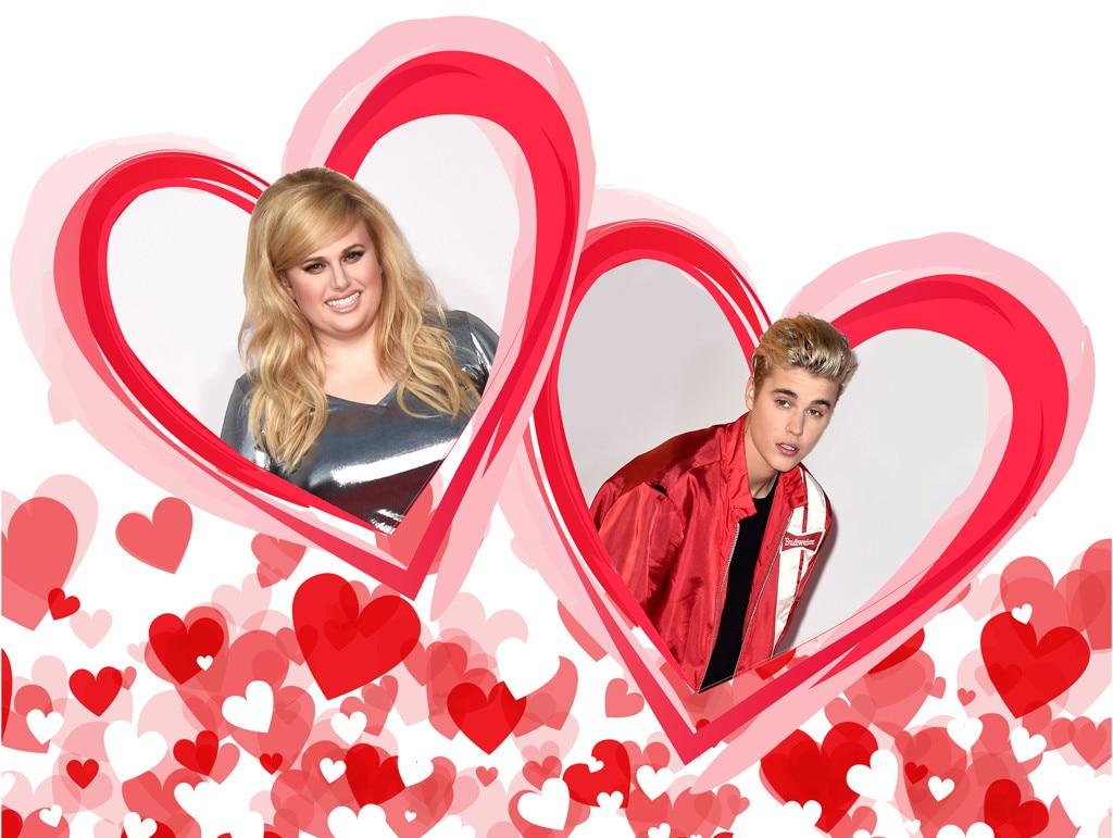 Rebel Wilson, Justin Bieber, Valentines Day