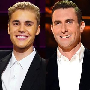 Grammy Hunks, Justin Bieber, Adam Levine
