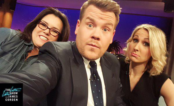 Rosie O'Donnell, James Corden, Nikki Glaser