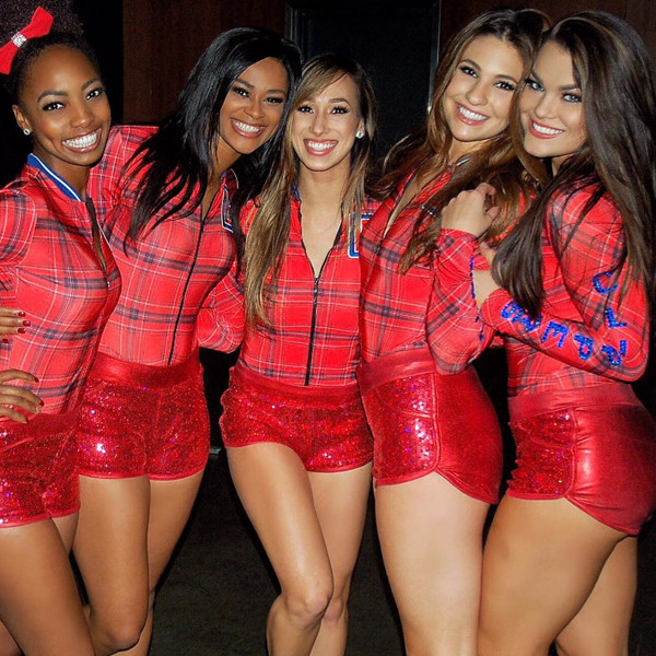 L.A. Clippers Dance Squad, Instagram, Spirit