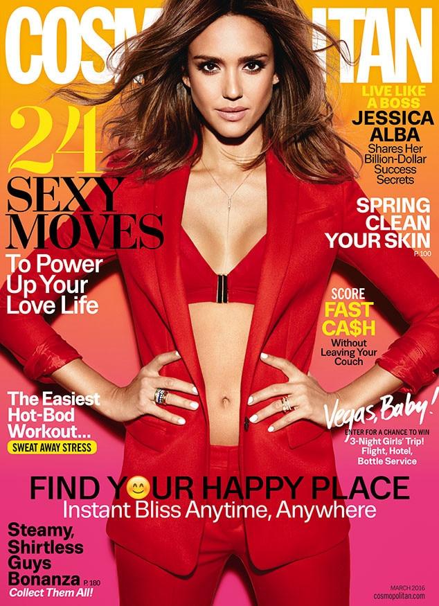 Jessica Alba, Cosmopolitan March 2016