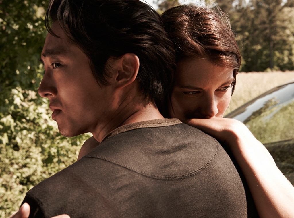 Steven Yeun, Lauren Cohan, The Walking Dead