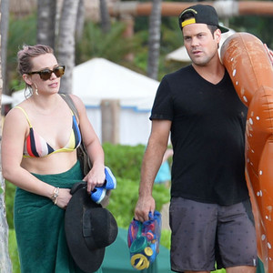 Hilary Duff, Mike Comrie