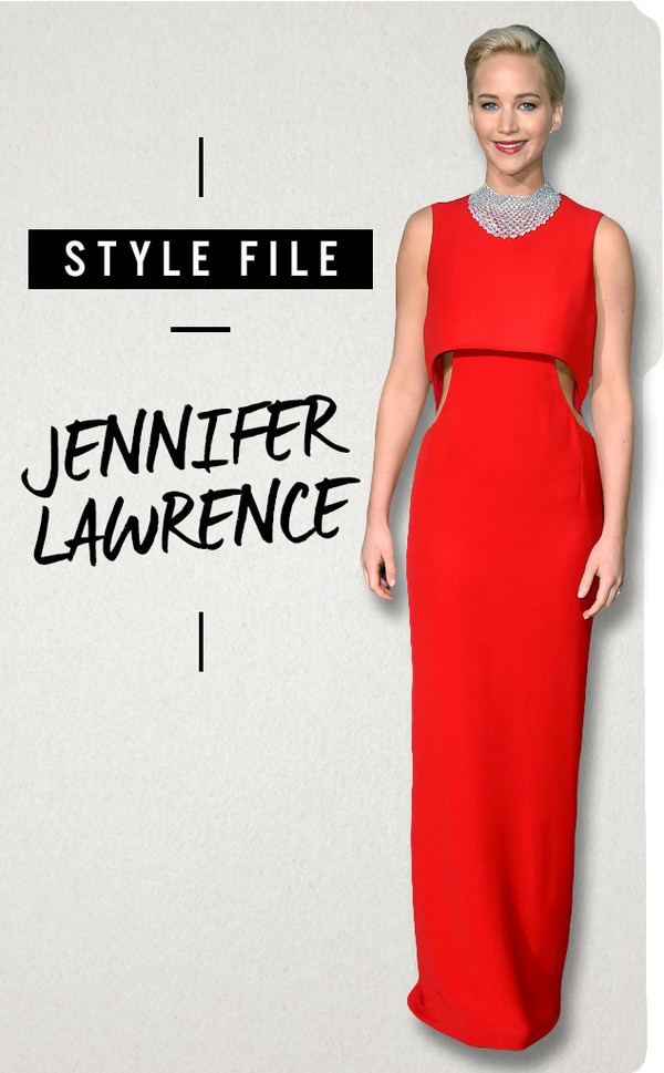 ESC, Jennifer Lawrence, Style File