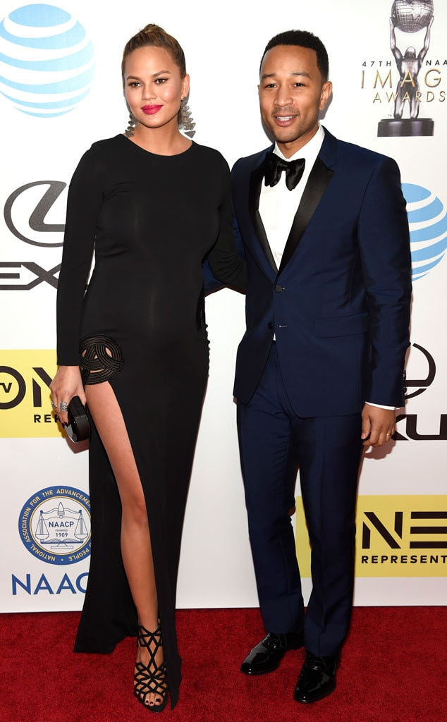 Chrissy Teigen, John Legend, NAACP Image Awards
