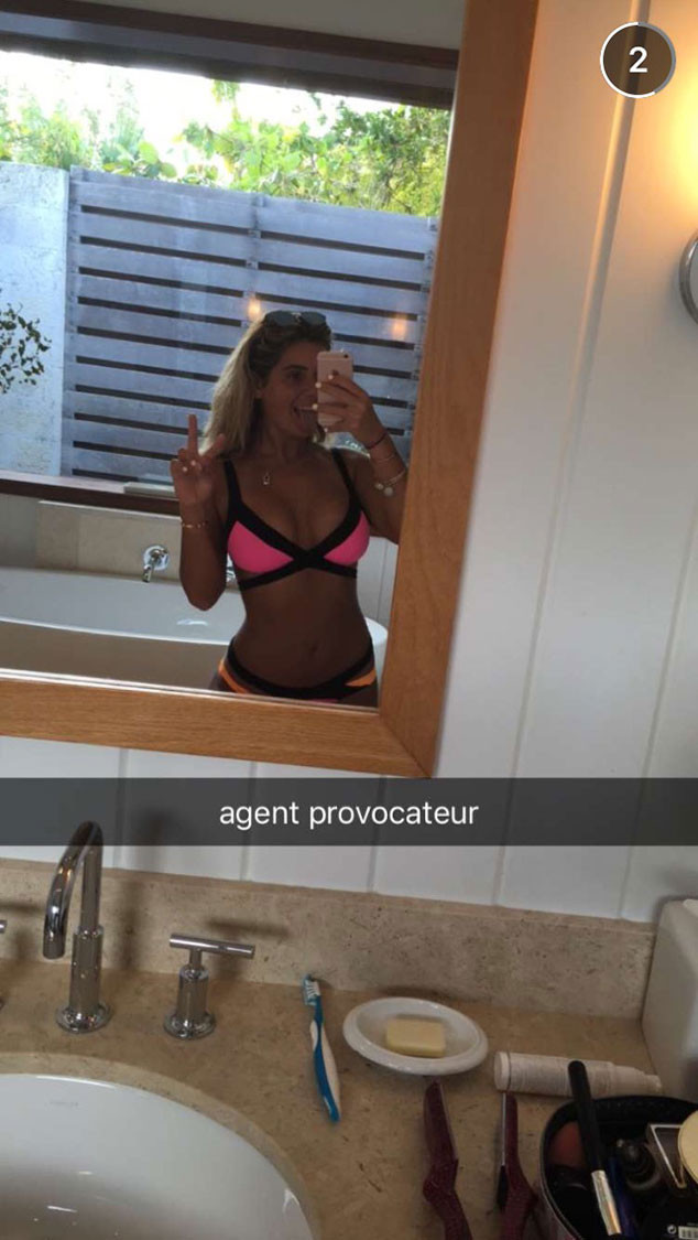 Brielle Biermann, Snapchat
