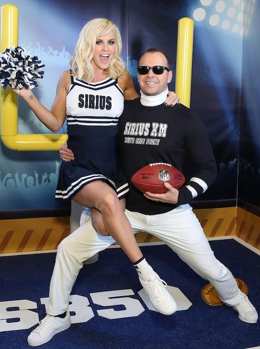 Jenny McCarthy, Donnie Wahlberg, Super Bowl